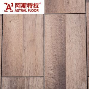 V-Groove Embossed Surface Waterproofed Laminate Flooring pictures & photos