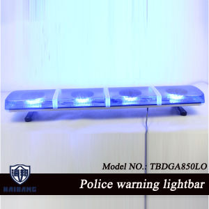 New Design Police Car Warning Lightbar in Blue Color pictures & photos