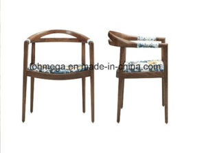 Newest Design Solid Wood Chaise De Restaurant with Armrest (FOH-17R2) pictures & photos