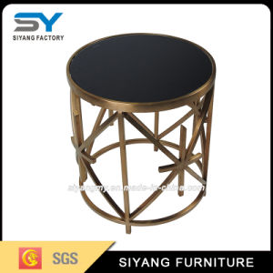 Singapore Stainless Steel Console Table Side Table for Sale pictures & photos