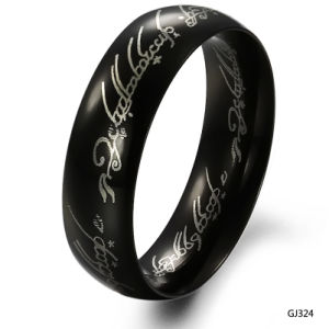 Anti Rust Engraved Fashion Mens Stainless Steel Rings Jewelry pictures & photos