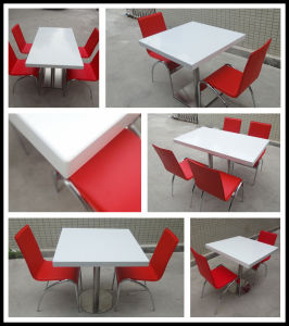 Modern Furniture Stone Restaurant Dining Table Top pictures & photos