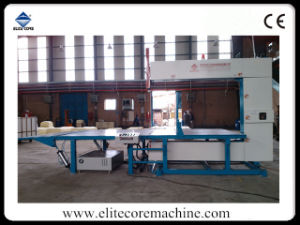Foam PVC Cutting Machine with Automatic Press-Roller pictures & photos
