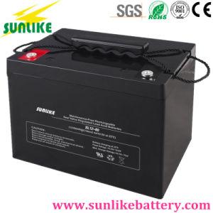Deep Cycle Lead Acid AGM Solar Power UPS Battery 12V45ah pictures & photos