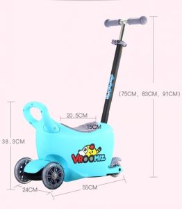 Hot Sale High Quality Aluminum 5 in 1 Kids Scooter pictures & photos