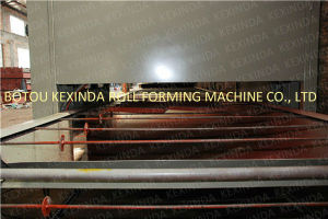 Nigeria Popular Color Stone Coated Metal Roof Tile Making Machine pictures & photos