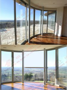 Curved Aluminium Sliding Door (BHA-DSA02) pictures & photos