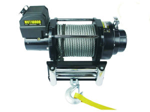 Auto Electric Wire Rope Winch with 12000lbs Pulling Capacity pictures & photos
