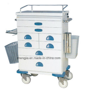 Sjt093 Luxurious Anesthesia Cart