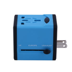 Universal Socket with Dual USB Port pictures & photos