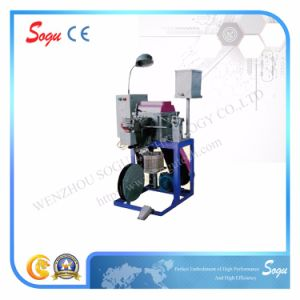 Semi-Automatic Rope Tipping Machine for Shoe′s Plastic Tip pictures & photos