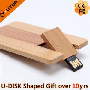 Furniture Promotional Gifts Wood Swiveling USB Pendrive (YT-3132) pictures & photos