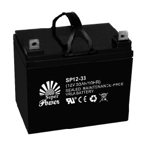 Storage Battery 12V 33AH with CE UL Cetificate (SP12-33) pictures & photos