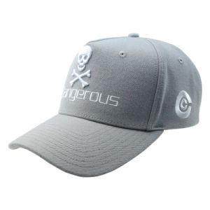 Wholesale Gray 5 Panles Baseball Cap/Hat pictures & photos
