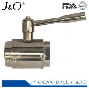 Sanitary Stainless Steel Straight Through Ball Valve pictures & photos