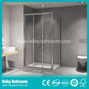 Good Quality Clean Cut Shower Cabinet with Hinger Open Door (SE322N)