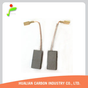 Switching Power Supply Carbon Brush/Hualian 999088 Motor Carbon Brush for Saw Cn5sb Hammer Grinder/Carbon Brush Copper Terminal pictures & photos