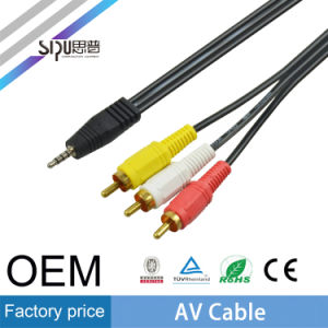 Sipu Factory Price OEM 3.5mm AV Cable Audio RCA Cables pictures & photos