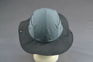 100% Polyester Bucket Hat for Outdoor with Silicone Patch pictures & photos