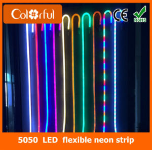 Waterproof SMD5050 RGB LED Flexible Neon Strip Light pictures & photos