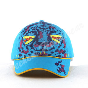 Tiger Print Comed Cotton Kids Caps for Children pictures & photos