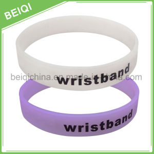 Fashion Customized Color Changed UV Silicon Wristband pictures & photos