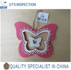 Professional Quality Control and Inspection Service in China-Wooden Butterfly Hanger