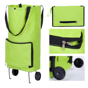 Large Outdoor Travel Shopping Trolley Wheel Foldable Luggage Bag pictures & photos