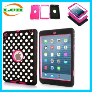 Hybrid Silicone Plastic Shockproof Case Back Cover for Apple iPad pictures & photos