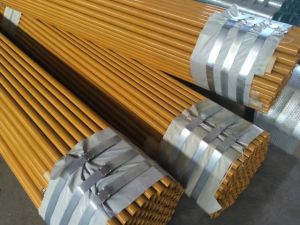 High Quality Paint Coating Round Tube pictures & photos
