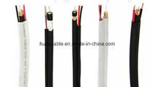 Siamese RG6 CCTV Cable with Power Wires (2DC) pictures & photos