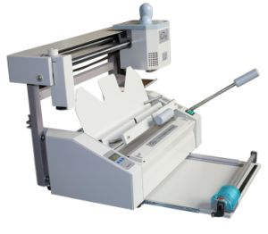 Desktop Manual 320mm Glue Book Binding Machine (WD-30C+) pictures & photos