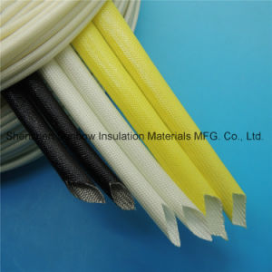 UL Listed Soft Acrylic Resin Coated Black Fiberglass Insulation Sleevings for F Grade Motor pictures & photos