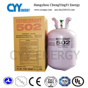 Hot Sale Mixed Refrigerant Gas of R502 for Air Conditioner pictures & photos