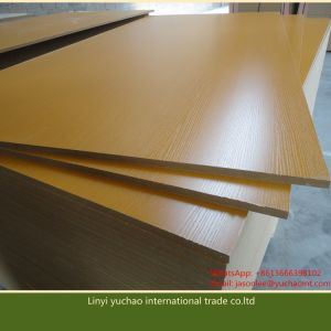 E1 Glue 17mm Melamine Paper Faced MDF for Furniture and Decoration pictures & photos