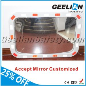 Reflective Square Traffic Roadway Safety Wall Convex Mirror pictures & photos