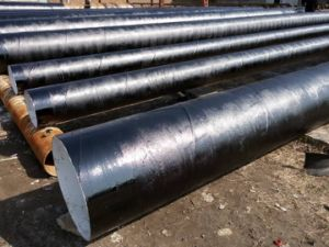 External 3lpe 3PE Internal Epoxy Coating Anticorrosion Steel Pipe pictures & photos