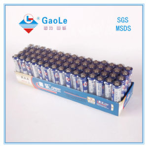 Super Power 1.5V AAA Battery R03 Um4 (in Paper Tay) pictures & photos
