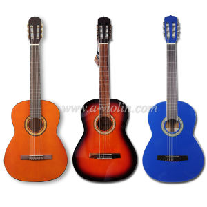 39′′ Beginner Musical Instrument Wholesale Classic Guitar (AC965H) pictures & photos