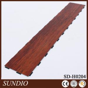 European Style Stone Grain PVC Click Flooring pictures & photos