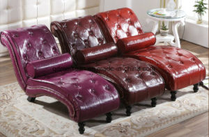 Beanbag Chair Sitting Room Balcony European-Style Recliner Sofas Imperial Concubine Paper Art Sofa Bed (M-X3761) pictures & photos