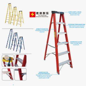 FRP Fiberglass Ladder Plastic Tool Topper with ANSI Cert pictures & photos