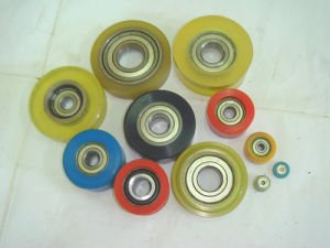 Polyurethane Rollers/Steel Roller Hand Truck PU Wheels pictures & photos