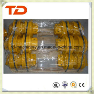 Excavator Spare Parts Daewoo Dh80 Track Roller/Down Roller for Crawler Excavator Undercarriage Parts
