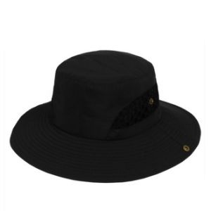 Black Polyester Fishing Hat pictures & photos