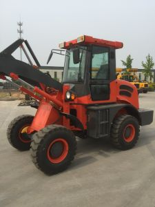 Mahindra Mini Wheel Loader Oj-16 1.6ton pictures & photos