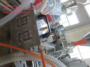 PVC electric Cable Trunking Extrusion Machine pictures & photos