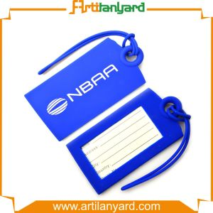 Fashion Hot Sale PVC Luggage Tag pictures & photos
