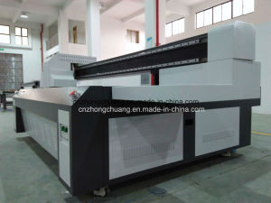 UV Flatbed Printer for Printing LED Lamp Cover Plastic Printer pictures & photos