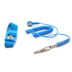 ESD Corded Wrist Strap Used in LED Elctronic Factory pictures & photos